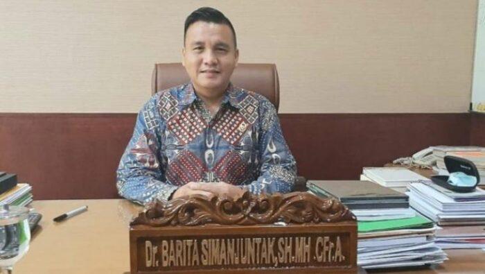 Ketua Komjak Dr. Barita Simanjuntak